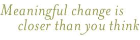 meaningul-change